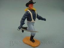 1. Brinquedos antigos - Timpo Toys - Soldado da Sétima Cavalaria de pé com sabre
