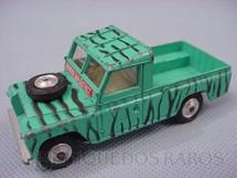 1. Brinquedos antigos - Corgi Toys - Land Rover 109 WB Daktary Set sem as figuras