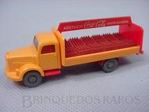 1. Brinquedos antigos - Wiking - Mercedes Benz 1951 Coca Cola com engradados Década de 1960
