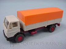 1. Brinquedos antigos - Wiking - Mercedes Benz dois eixos carga seca Década de 1970
