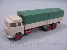 1. Brinquedos antigos - Wiking - Caminhão Magirus Deutz de dois eixos carga seca Escala HO
