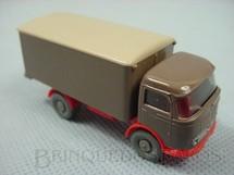 1. Brinquedos antigos - Wiking - Caminhão Mercedes Benz com bau