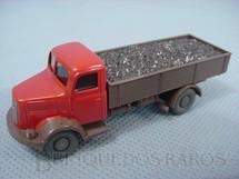 1. Brinquedos antigos - Wiking - Caminhão Bussing Carga seca com carvão escala HO
