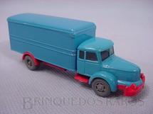 1. Brinquedos antigos - Wiking - Caminhão Krupp Titan baú escala HO