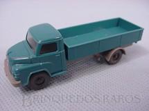 1. Brinquedos antigos - Wiking - Caminhão Man Diesel, carga seca, azul