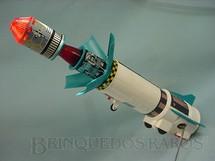 1. Brinquedos antigos - Sem identificação - Foguete Apollo X com 40,00 cm de comprimento de lata e plástico Década de 1970