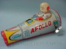 1. Brinquedos antigos - Modern Toys e Masudaya Toys - Nave Espacial Apollo com 14,00 cm de comprimento Ano 1968