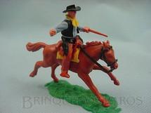 1. Brinquedos antigos - Timpo Toys - Cowboy montado a cavalo com rifle Década de 1970
