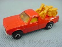 1. Brinquedos antigos - Matchbox - Inbrima - Caminhonete Holden Pick Up Superfast Brazilian Matchbox laranja Inbrima 1970
