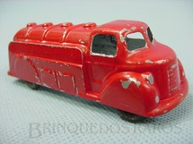 1. Brinquedos antigos - London Toy - Caminhão Tanque Oil Tanker com 10,00 cm de comprimento Década de 1930