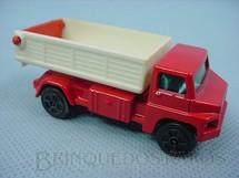 1. Brinquedos antigos - Corgi Toys-Kiko - Tipping Lorry vermelho com caçamba branca Brazilian Corgi Jr Kiko Década de 1980