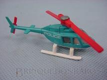 1. Brinquedos antigos - Corgi Toys-Corgi Jr. - Helicóptero Strombergs Jet Ranger Police Helicopter Corgi Jr
