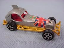 1. Brinquedos antigos - Corgi Toys-Corgi Jr. - Super Stock Car amarelo Corgi Jr Whizzwheels