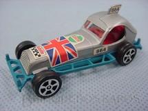 1. Brinquedos antigos - Corgi Toys-Corgi Jr. - Super Stock Car azul Corgi Jr Whizzwheels
