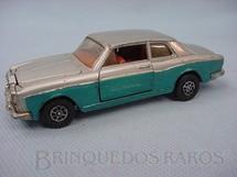 1. Brinquedos antigos - Corgi Toys - Rolls Royce Silver Shadow prata e azul
