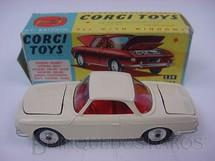 1. Brinquedos antigos - Corgi Toys - Volkswagen Karmann Ghia 1500 Ano 1965