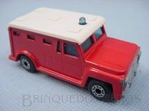 1. Brinquedos antigos - Matchbox - Inbrima - Armored Truck Superfast vermelho Brazilian Matchbox Inbrima 1970
