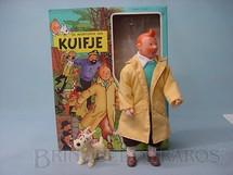 1. Brinquedos antigos - Seri - Figura do Tin Tin e Milú com 23,00 cm de altura Década de 1980