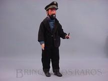 1. Brinquedos antigos - Seri - Figura do Capitão Haddock série Tin Tin com 27,00 cm de altura Década de 1980
