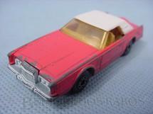 1. Brinquedos antigos - Matchbox - Inbrima - Lincoln Continental MK V Superfast salmão Brazilian Matchbox Inbrima 1970