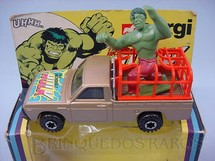 1. Brinquedos antigos - Corgi Toys - Carro do Incrivel Hulk Incredible Hulk Década de 1970