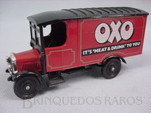 1. Brinquedos antigos - Corgi Toys - Furgão Thornycroft Van 1910 Oxo It is Meat and Drink to you