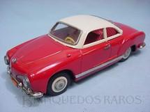 1. Brinquedos antigos - Metalma - Volkswagen Karmann Ghia com 26,00 cm de comprimento Década de 1970