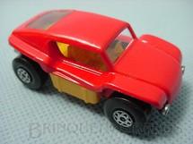 1. Brinquedos antigos - Matchbox - Inbrima - Beach Buggy Superfast vermelho Brazilian Matchbox Inbrima 1970