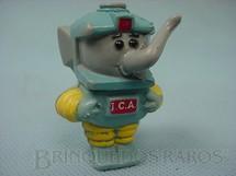 1. Brinquedos antigos - Seri - Elefantinho da Shell vestido de astronauta Promoção do Óleo Lubrificante com ICA Década de 1970
