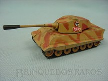 1. Brinquedos antigos - Corgi Toys - Tanque de guerra King Tiger German Heavy Tank