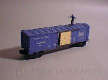 1. Brinquedos antigos - Lionel - Vagão Operating Brakeman Car Wabash completo