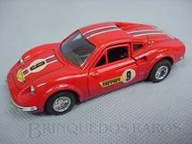 1. Brinquedos antigos - Shinsei - Ferrari Dino vermelha Alfema Década de 1980
