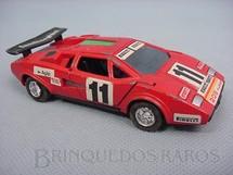 1. Brinquedos antigos - Shinsei - Lamborguini Countach vermelha Alfema Década de 1980