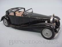 1. Brinquedos antigos - Solido - Bugatti 41 Royale 1930 preta datada 5/64
