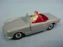 1. Brinquedos antigos - Dinky Toys - Triumph Spitfire com motorista e cinto de segurança Década de 1960