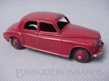 1. Brinquedos antigos - Dinky Toys - Rover 75 Saloon vermelho Ano 1951