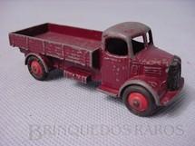 1. Brinquedos antigos - Dinky Toys - Austin Truck marrom Ano 1950