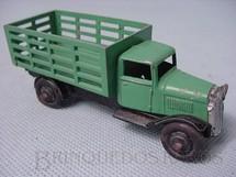 1. Brinquedos antigos - Dinky Toys - Caminhão Market Gardeners verde Ano 1935 a 1940