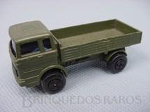 1. Brinquedos antigos - Matchbox - Mercedes Truck Superfast verde oliva