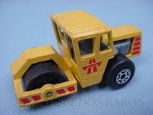 1. Brinquedos antigos - Matchbox - Inbrima - Bomag Road Roller Superfast amarelo Brazilian Matchbox Inbrima 1970