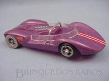 1. Brinquedos antigos - Cox - Cucaracha roxa metálica com Chassi de Alumínio e Rodas de Magnésio Década de 1970