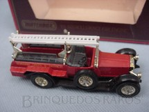1. Brinquedos antigos - Matchbox - 1920 Rolls Royce Fire Engine Yesteryear