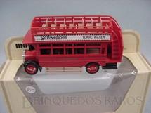 1. Brinquedos antigos - Matchbox - 1922 A.E.C. S Type Omnibus Yesteryear