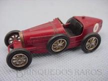 1. Brinquedos antigos - Matchbox - 1926 Type 35 Bugatti Yesteryear vermelha