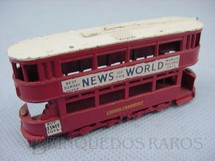 1. Brinquedos antigos - Matchbox - 1907 London E Class Tram Car Yesteryear