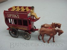 1. Brinquedos antigos - Matchbox - 1899 London Horse Draw Bus Yesteryear Ano 1959