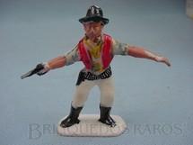 1. Brinquedos antigos - Viocena - Cowboy com revolver Série Gunsmoke Década de 1970