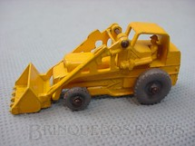 1. Brinquedos antigos - Matchbox - Weatherill Hydraulic Excavator Gray Plastic Regular Wheels amarelo