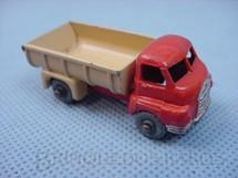 1. Brinquedos antigos - Matchbox - Bedford Tipper Truck 1957 Metal Regular Wheels
