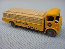 1. Brinquedos antigos - Matchbox - Albion Chieftain Truck 1958 Gray Plastic Regular Wheels